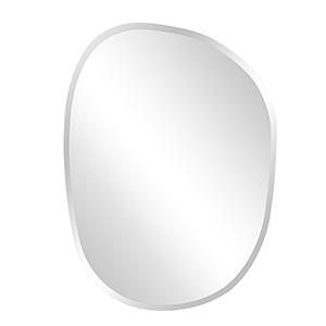 Asymmetrical Frameless Mirror