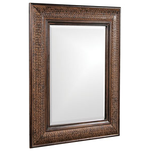 Grant Antique Brown 2-Inch Rectangle Mirror