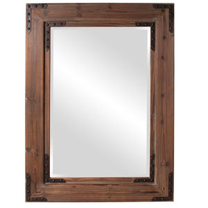 Caldwell Wood Rectangle Mirror