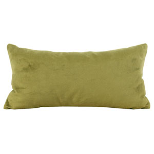 Bella Moss Kidney Pillow with Down Insert