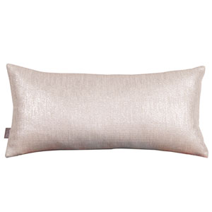 Glam Sand Kidney Pillow with Down Insert