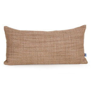 Coco Stone Kidney Pillow with Down Insert