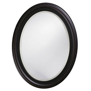 George Oil Rubbed Bronze Oval Mirror