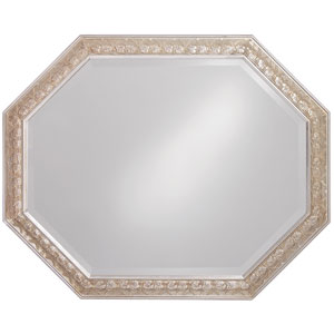 Crete Silver Leaf Rectangle Mirror