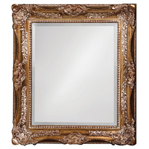 Thames Antique Bronze Rectangle Mirror