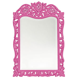 St. Augustine Hot Pink Rectangle Mirror