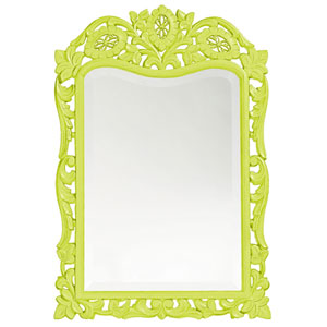 St. Augustine Green Rectangle Mirror