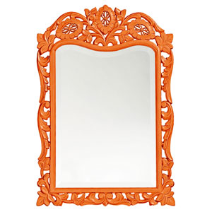 St. Augustine Orange Rectangle Mirror