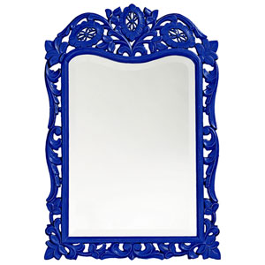 St. Augustine Royal Blue Rectangle Mirror