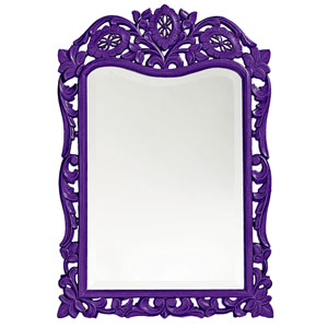 St. Augustine Royal Purple Rectangle Mirror