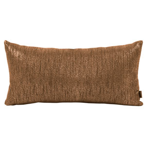 Glam Chocolate Kidney Pillow