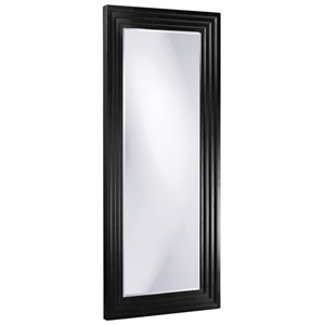 Delano Black Tall Rectangle Mirror