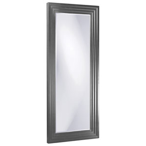 Delano Charcoal Gray Tall Rectangle Mirror