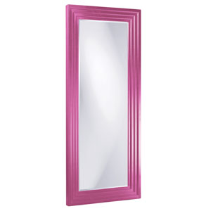 Delano Hot Pink Tall Rectangle Mirror