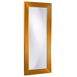Delano Orange Tall Rectangle Mirror