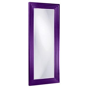 Delano Royal Purple 3-Inch Rectangle Mirror
