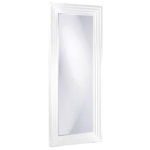 Delano White Tall Rectangle Mirror