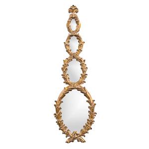 Altria Gold Rectangle Mirror