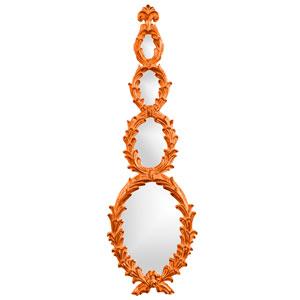 Altria Orange Oval Mirror