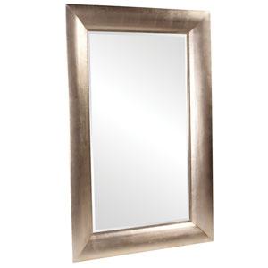 Barron Silver Leaf Rectangle Mirror