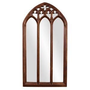 Basilica Tuscan Brown Mirror