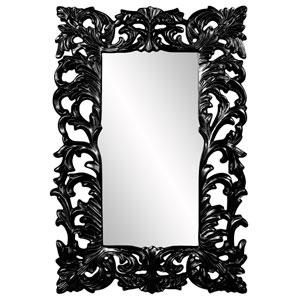 Augustus Glossy Black Mirror