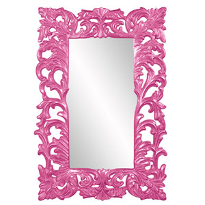 Augustus Glossy Hot Pink Mirror
