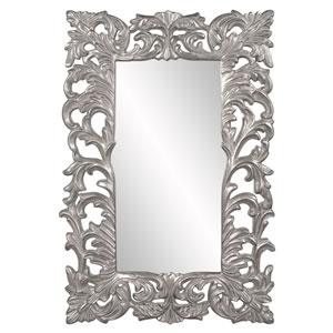 Augustus Glossy Nickel Mirror
