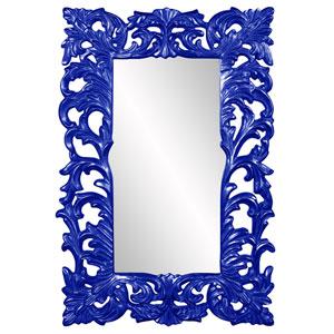 Augustus Glossy Royal Blue Mirror