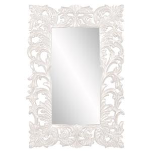 Augustus Glossy White Mirror