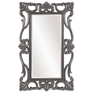 Whittington Charcoal Gray Mirror