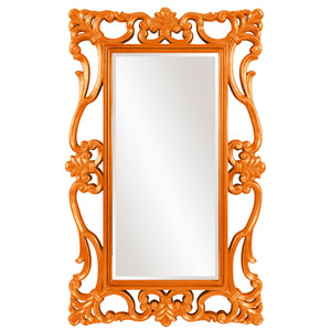 Whittington Orange Mirror