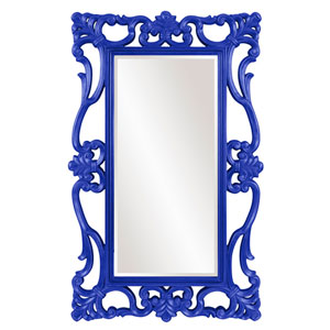 Whittington Royal Blue Mirror