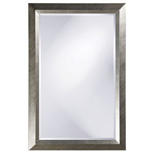 Avery Silver 2-Inch Large Rectangle Mirror