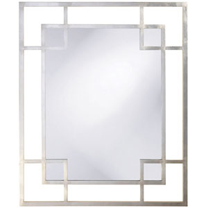 Lois Platinum Rectangle Mirror
