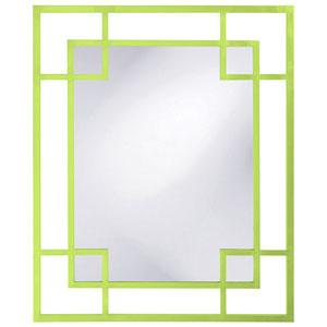 Lois Green Rectangle Mirror