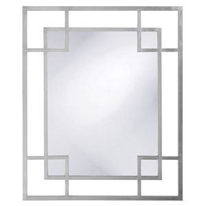 Lois Glossy Nickel Mirror