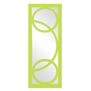 Dynasty Green Rectangle Mirror
