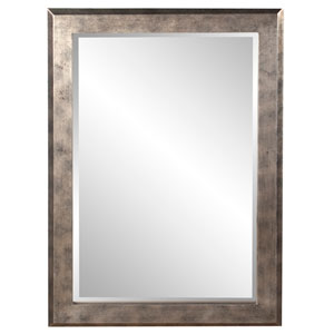 Charlize Silver Leaf Rectangle Mirror