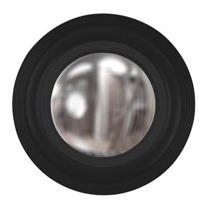 Soho Black 2-Inch Round Mirror