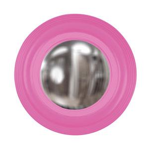 Soho Hot Pink Round Mirror