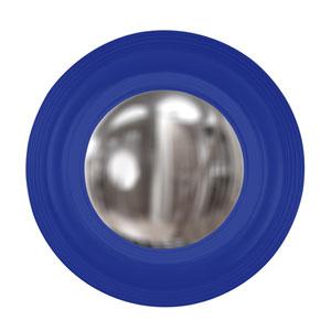 Soho Royal Blue Round Mirror