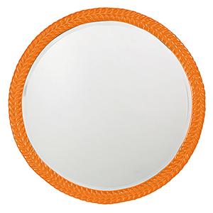 Amelia Glossy Orange Mirror