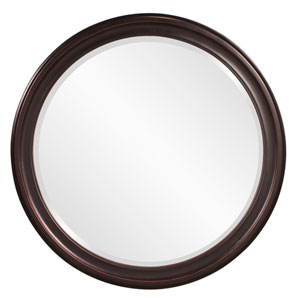 George Oil Rubbed Bronze Round Mirror