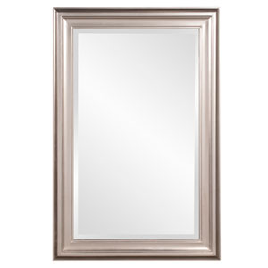 George Bright Nickel Rectangle Mirror