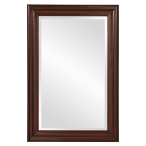 George Wenge Brown Rectangular Mirror