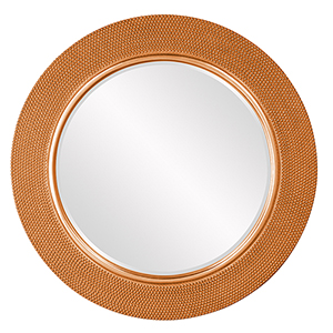 Yukon Glossy Orange Mirror