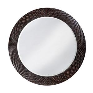Bergman Black Round Mirror - Small