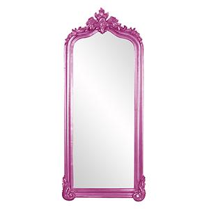 Tudor Glossy Hot Pink Mirror