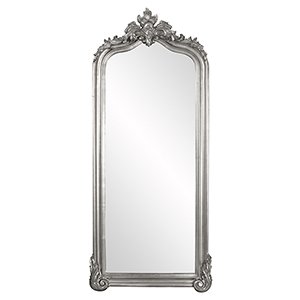 Tudor Glossy Nickel Mirror